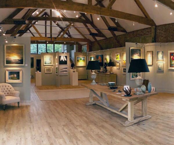 Nadia Waterfield Fine Art Gallery, Stockbridge, contemporary art for sale in Hampshire, expressive artwork exhibition, art exhibition