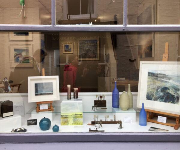 Expressive contemporary art for sale in Cornwall, Cornish art, colourful expressive seascapes and coastal art